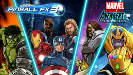PFX3 Marvel Pinball Avengers Chronicles