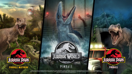 PFX3 Jurassic World Pinball
