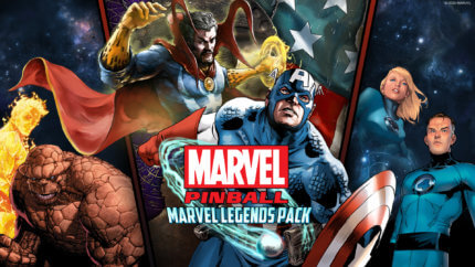 PFX3 Marvel Pinball Legends