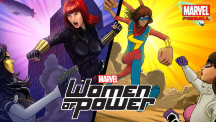 PFX3 Marvel Pinball Women of Power
