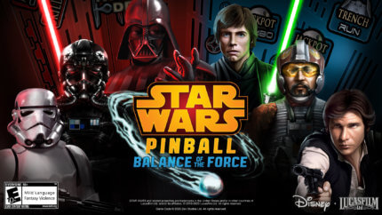 PFX3 Star Wars™ Pinball Balance of the Force