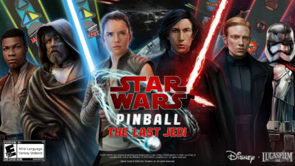 PFX3 Star Wars™ Pinball The Last Jedi
