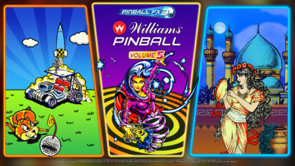 PFX3 Williams Pinball Volume 5